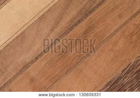 Wooden Planks Background Flat lay Wooden panel.