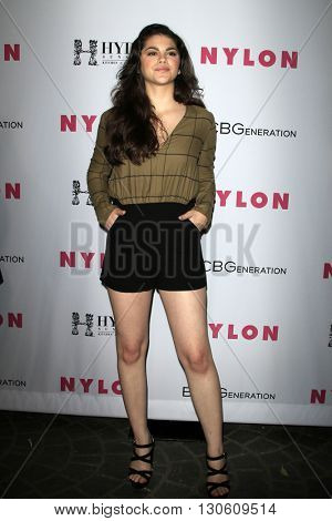 LOS ANGELES - MAY 12:  Fallon Smythe at the NYLON Young Hollywood May Issue Event at HYDE Sunset on May 12, 2016 in Los Angeles, CA