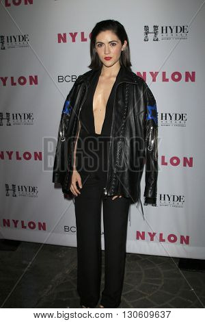 LOS ANGELES - MAY 12:  Isabelle Furhman at the NYLON Young Hollywood May Issue Event at HYDE Sunset on May 12, 2016 in Los Angeles, CA