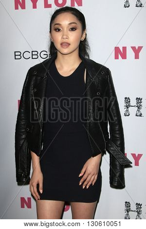 LOS ANGELES - MAY 12:  Lana Condor at the NYLON Young Hollywood May Issue Event at HYDE Sunset on May 12, 2016 in Los Angeles, CA