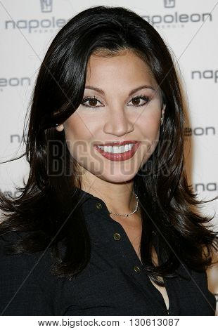 Victoria Recano at the Napoleon Perdis Unveils Summer Collection held at the Napoleon Perdis Hollywood Flagship Store in Hollywood, USA on May 1, 2007.