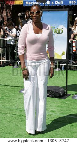 Mary J. Blige at the Los Angeles premiere of 'Shrek 3' held at the Mann Village Theater in Westwood, USA on May 6, 2007.