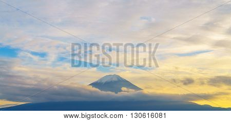 Mount Fuji sunset, Japan
