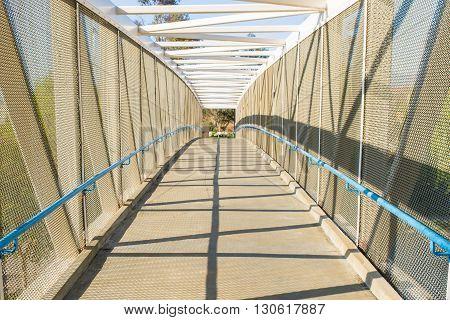 Bridge For Bike Path