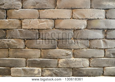 Brick block texture as a back ground