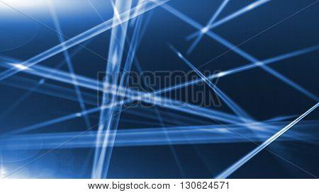 Optical Fibers Of Fiber Optic Cable. Internet Technology