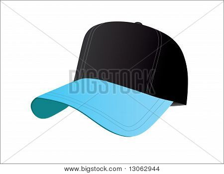 Black And Blue Baseball Cap