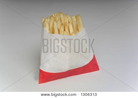Fast Food Fries Small