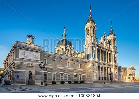 Cathedral of Saint Mary in Madrid - Spain