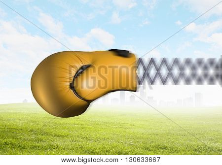 Boxing glove surprise