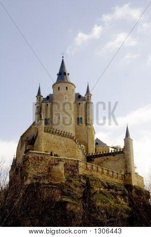 Alcazar Of Segovia Front