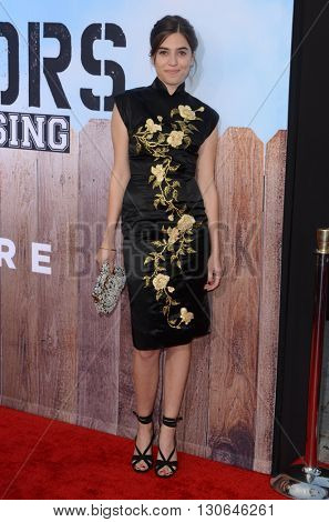 LOS ANGELES - MAY 20:  Clara Mamet at the Neighbors 2: Sorority Rising American Premiere at Village Theater on May 20, 2016 in Westwood, CA