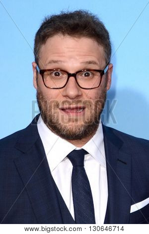 LOS ANGELES - MAY 20:  Seth Rogen at the Neighbors 2: Sorority Rising American Premiere at Village Theater on May 20, 2016 in Westwood, CA