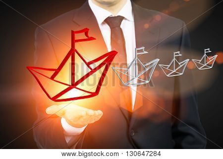 Leadership Concept Toning