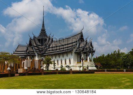 Replication of Pagoda in Ancient City of Bangkok