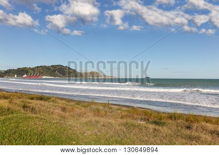 Beach at Poverty Bay - Gisbourne North Island of New Zealand