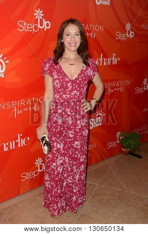 LOS ANGELES - MAY 20:  Marla Sokoloff at the Step Up Inspiration Awards at Beverly Hilton Hotel on May 20, 2016 in Beverly Hills, CA