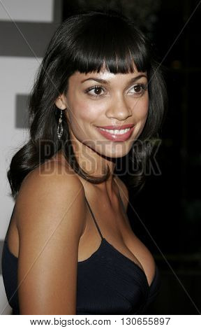 Rosario Dawson at the 57th Annual ACE Eddie Awards held at the Beverly Hills Hotel in Beverly Hills, USA on February 18, 2007.