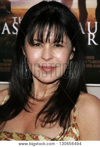 Maria Conchita Alonso at the Los Angeles premiere of 'The Astronaut Farmer' held at the Cinerama Dome in Hollywood, USA on February 20, 2007.