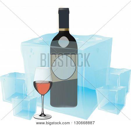 alcoholic beverage black wine served cold cold wine