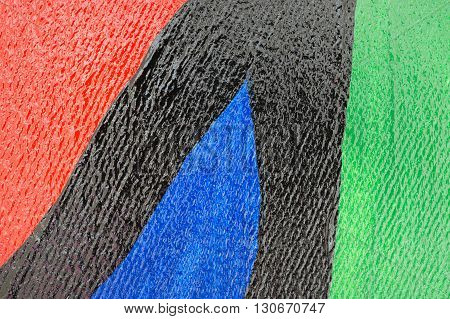 Close up of oil painting surface texture background