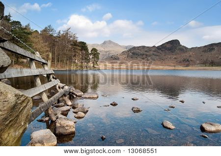 Mountain Lake Landscape