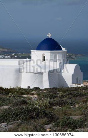 Chapel Near Sarakiniko, Paros, Greece