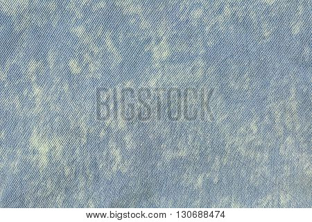 Jean denim texture for Background, blue and white