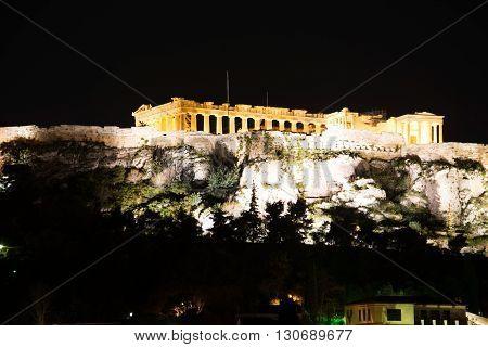 Acropolis Of Athens, Geece
