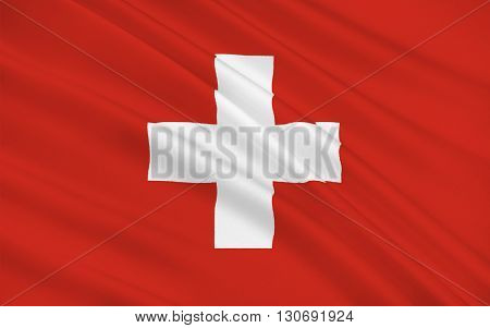 Flag of Switzerland officially the Swiss Confederation is a federal republic in Europe.