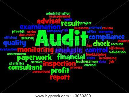 Audit, Word Cloud Concept 3