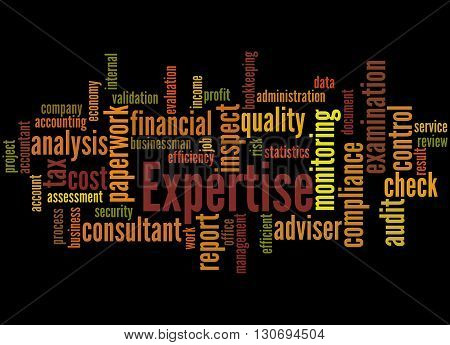 Expertise, Word Cloud Concept 6