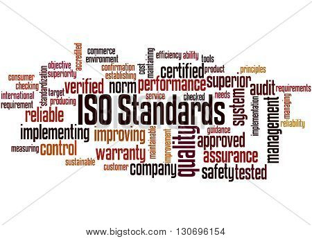 Iso Standards, Word Cloud Concept 9