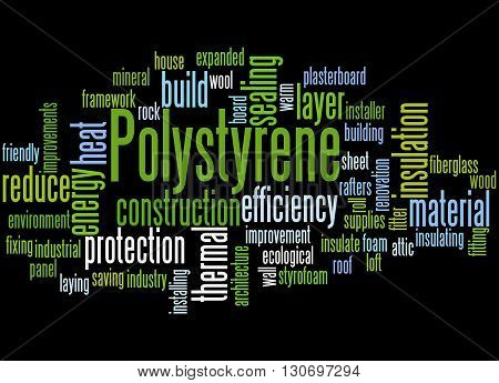 Polystyrene, Word Cloud Concept 3