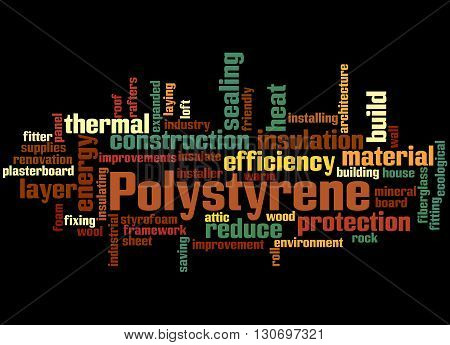 Polystyrene, Word Cloud Concept 5