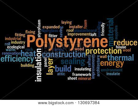 Polystyrene, Word Cloud Concept 8