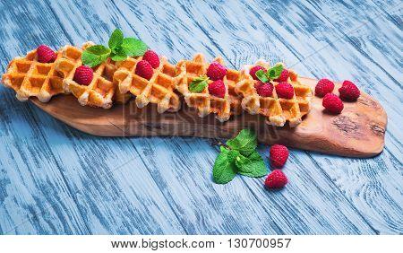 Thick Lush Belgian Waffles