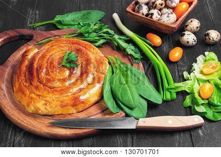 Spiral Filo Pie