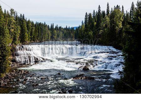 Dawson Falls, Wells Gray Provincial Park, Bc, Canada