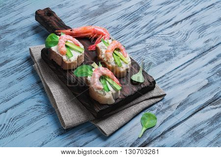 Small Sandwiches  Food Photo