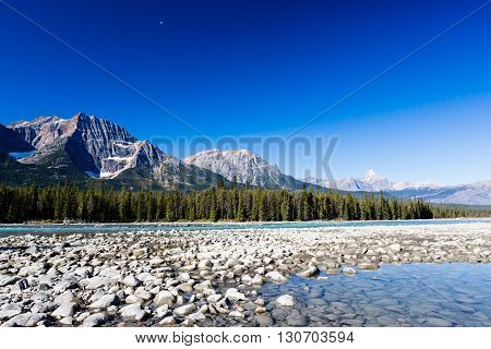 Athabasca River, Icefield Parkway, Jasper National Park