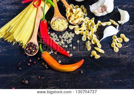 Pasta Cooking Concept
