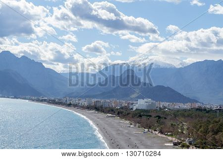 Mountains By The Mediterranean
