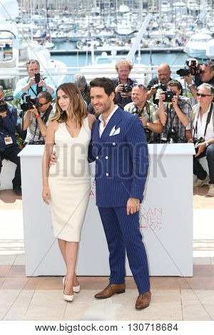 Ana de Armas, Edgar Ramirez  at the photocall for Hands Of Stone at the 69th Festival de Cannes.