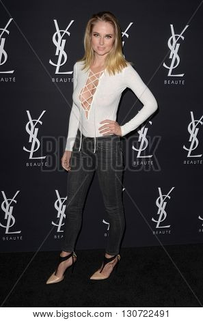 LOS ANGELES - MAY 19:  Genevieve Morton at the Zoe Kravitz Celebrates Her New Role With Yves Saint Laurent Beauty at Gibson Brands Sunset on May 19, 2016 in West Hollywood, CA