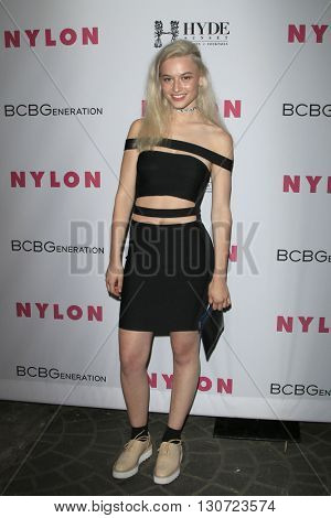 LOS ANGELES - MAY 12:  Valentina Cytrynowicz at the NYLON Young Hollywood May Issue Event at HYDE Sunset on May 12, 2016 in Los Angeles, CA
