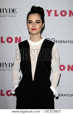 LOS ANGELES - MAY 12:  Vanessa Marano at the NYLON Young Hollywood May Issue Event at HYDE Sunset on May 12, 2016 in Los Angeles, CA