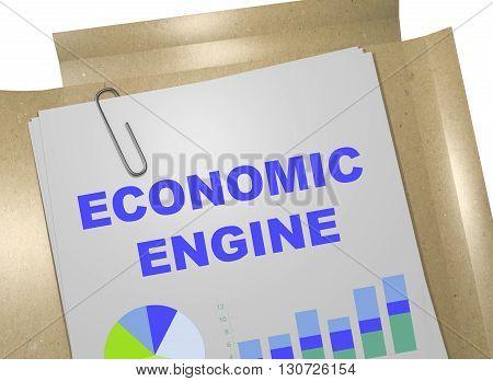 Economic Engine Business Concept