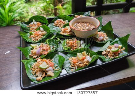 Thai appetizer called