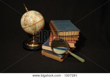 Books And Globes Vi